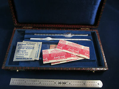 VINTAGE PROPPER TROPHY HEMACYTOMETER BLOOD PIPETTES LOT sku#20