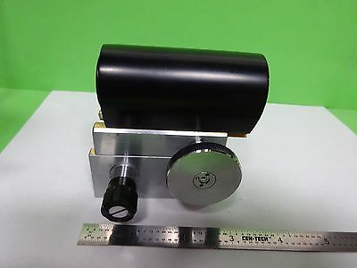 Microscope Part Tubus + Micrometer Technical Instrument As Is Bin#72-M-08