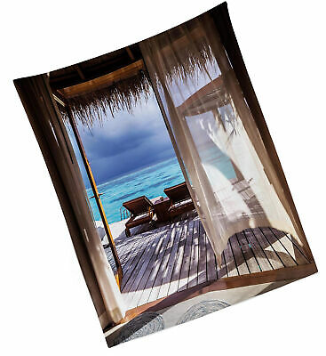 Sea Wave Art Printing Tapestry Wall Hanging Beach towel Throw Home Decoration ny