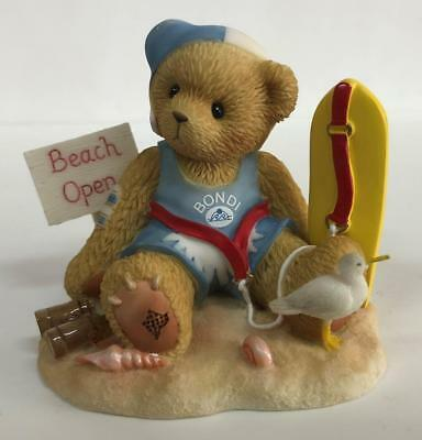 Cherished Teddies Merv NEW With Box and Adoption Papers