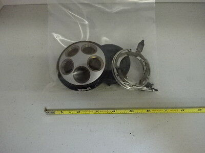 Microscope Part Leitz Ortholux Nosepiece Assembly Pieces As Is Aj-18
