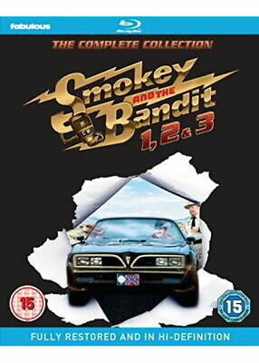Smokey and the Bandit Trilogy 1+2+3 Complete Film Collection Blu Ray Region B
