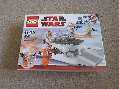 Boite Lego Star 8083 Hoth Neuf Rebelamp; Imperial Wars 8084 Set bf6gy7
