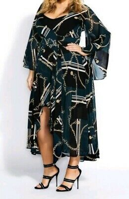 city chic maxi chained up in xs
