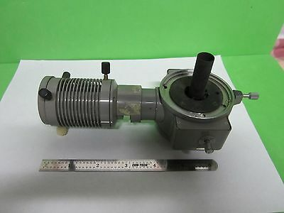 For Parts Microscope Olympus Japan Vertical Illuminator Optics As Is Bin#V2-05