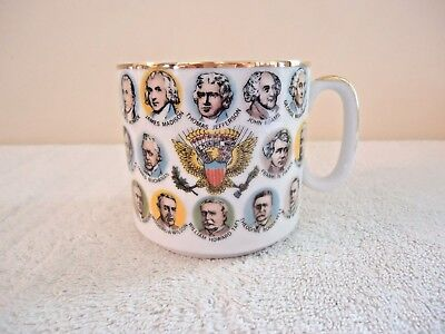 """Vintage 1966 Chadwick-Miller President Faces Coffee Cup """" BEAUTIFUL COLLECTIBLE"""