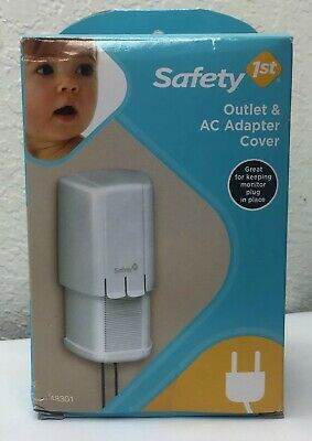 Safety 1st Electrical Adapter and Plug Cover Dual Action Release Expands
