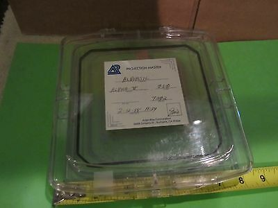 Vintage Semiconductor Mascarilla Alphasil?? Parte As Is Papelera #