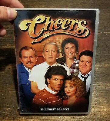 """""""CHEERS"""" TV SHOW - THE COMPLETE FIRST SEASON DVD 4-Disc Set BRAND NEW SEALED"""