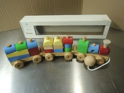 Pottery Barn Kids Wooden Nursery Pull Train Toy