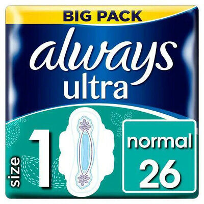 Always Ultra Normal Plus with Wings Duo Sanitary Pad 26PK