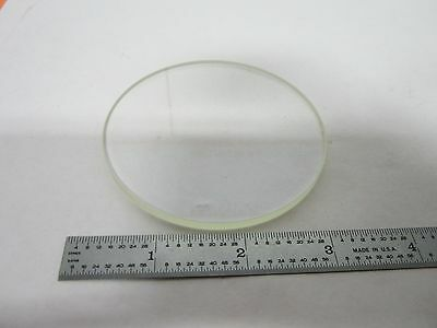 Microscope Optical Flat Glass Stage Window Optics Olympus Nikon As Is Bin#J9-05
