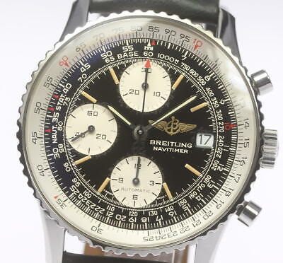 BREITLING Old Navitimer A13022 Automatic Men's Leather Belt Watch_472355
