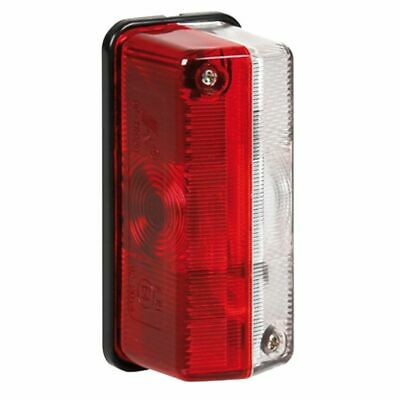 Luce Ingombro Camper Camion 12/24V Lampa Rosso/Bianco New