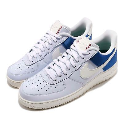 free shipping c531a 52131 Nike Air Force 1 07 QS Low Game Royal Sail Blue Men Shoes Sneakers AH8462-