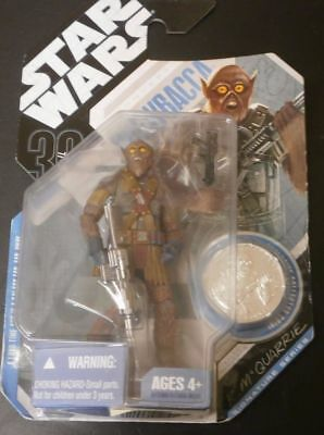 Star Wars 30th anniversary concept CHEWBACCA figure with coin