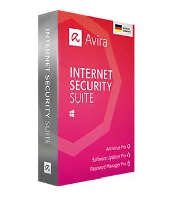 Avira Internet Security Suite 2019 Vollversion 1 Gerät 1 Jahr Sofortversand ESD