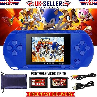 16Bit Handheld Portable Video Game Console Built In 150+Games Kids Entertainment