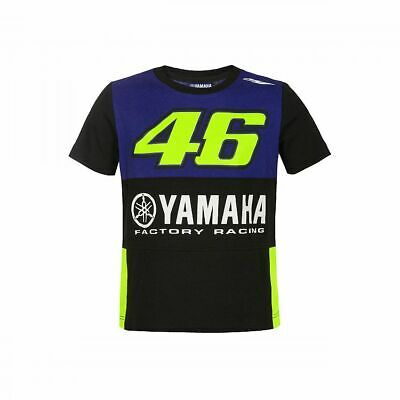 NEW 2019 Rossi Moto GP YAMAHA 46 Childrens KIDS Boys Junior T Shirt OFFICIAL