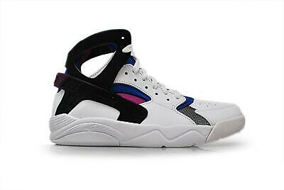 Juniors NIKE FLIGHT HUARACHE GS White Trainers 705281 100
