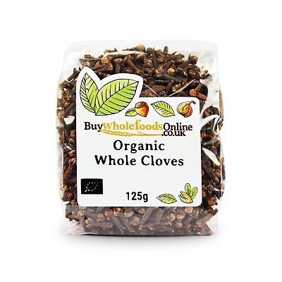 Organic Cloves Whole 125g | Buy Whole Foods Online | Free UK P&P