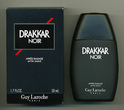 Guy Laroche Drakkar Noir After Shave Lotion Splash (NO SPRAY) 50ml New & Rare