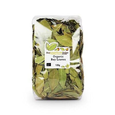Organic Bay Leaves 125g | Buy Whole Foods Online | Free UK P&P