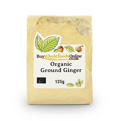 Organic Ginger Ground 125g | Buy Whole Foods Online | Free UK P&P