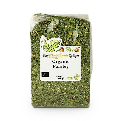 Organic Parsley 125g | Buy Whole Foods Online | Free UK P&P