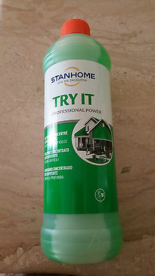 Lot 2 Bouteilles 1 L Soit 2 L Try It Nettoyages Profonds - Stanhome - Neuf