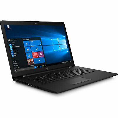 Notebook HP Intel Dual 2,6GHz 17,3 Display 8GB RAM - 1000GB - Windows 10 Pro