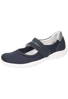 REMONTE DAMEN FLACHE Slipper royal (blau) R7601 14 | Schuhe