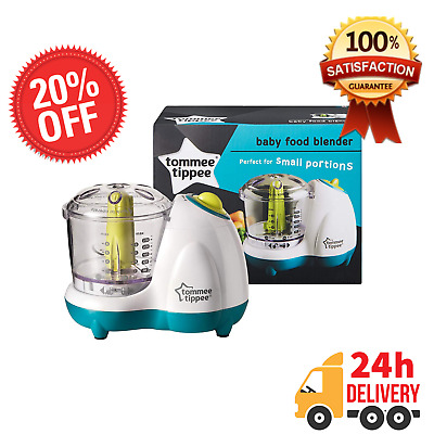 NEW Premium Tommee Tippee Baby Food Blender Puree Maker Easy Masher Processor