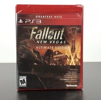 Fallout: New Vegas -- Ultimate Edition PS3 Brand New Factory Y-Fold Sealed