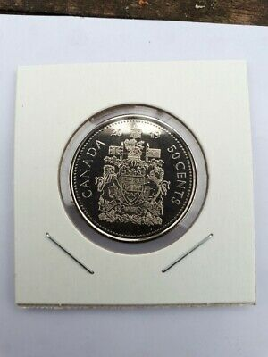 2019 Canadian coin / 50 cent From Mint Roll UNC NEWLY MINTED