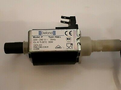 Electromagnetic pump Defond Model P -Type P600 L replacement part