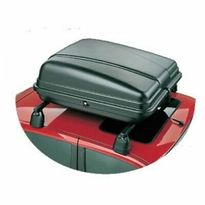 Brand New Auto-Plas 200 Litre Black Unassembled Roof Box with Fittings