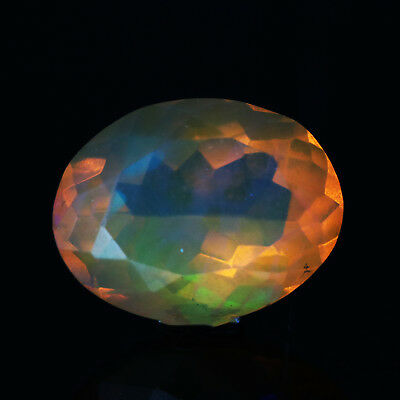 """2.44 Cts Multi-color Cut """"JELLY"""" Opal Loose Gemstone"""