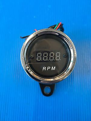 Rev Counter Digital Cafe' Racer Black New
