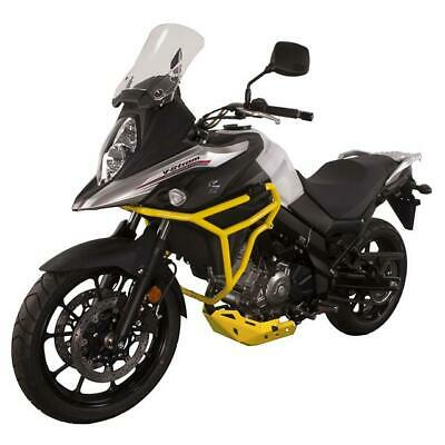 CrossPro YELLOW Crash Bars Engine Guards Suzuki DL650 V-Strom 2019