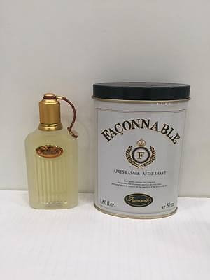 Faconnable Homme Classic After Shave Lotion 50ml Splash (No Spray) New & Rare