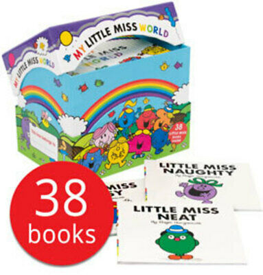 My Little Miss World Box Set Collection - 38 Books NEW