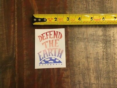 c5f6571212fd2 Patagonia Defend The Earth Sticker Decal Outdoor Climb Hiking Approx 2.5