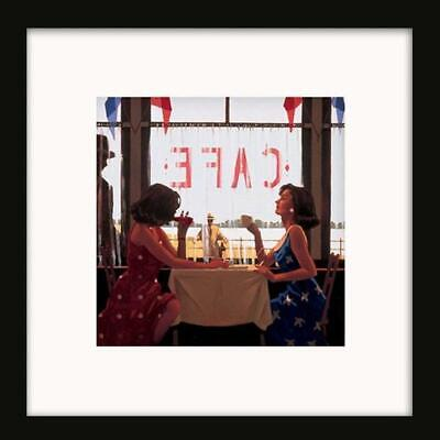 Jack Vettriano Print Picture Small Oxford Black Framed Cafe Days The Drifter