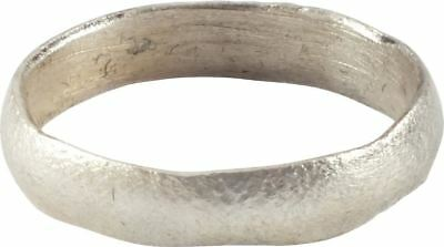 ANCIENT VIKING RING NORSE WARRIOR WEDDING JEWELRY C.900 AD Size 8 ¾. 18.9mm