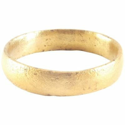 MEDIEVAL VIKING RING C.900-1000 AD Size 12. 21.2mm ANCIENT NORSE BAND