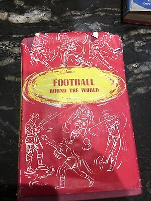 Football Round The World by Tom Finney (Autographed) Book.