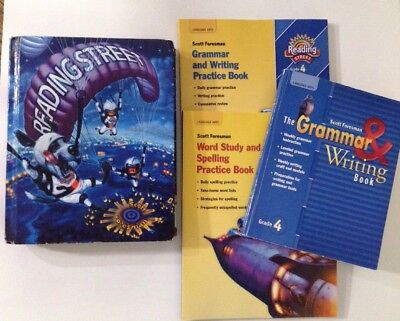 4th Forth Grade Reading Student Book With Workbooks Spelling Grammer Writing