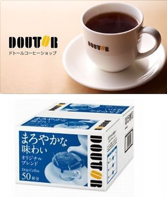 Home & Garden Delicious Doutor Coffee Drip 50pcs Classic Blend Japan Free Shipping From Japan Limited