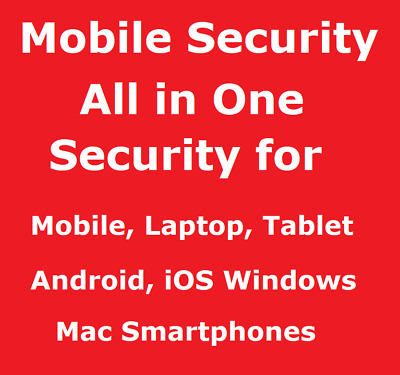 All in One Mobile Security Laptop Tablet Android iOS Windows Mac 1 Year 3 Device